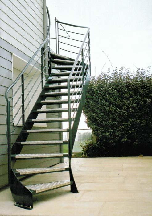 escalier fer forge manche calvados ille et vilaine realisation pose. Black Bedroom Furniture Sets. Home Design Ideas